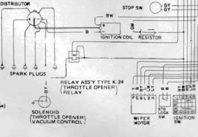 ford pinto wiring diagram ballast resistor wiring diagram