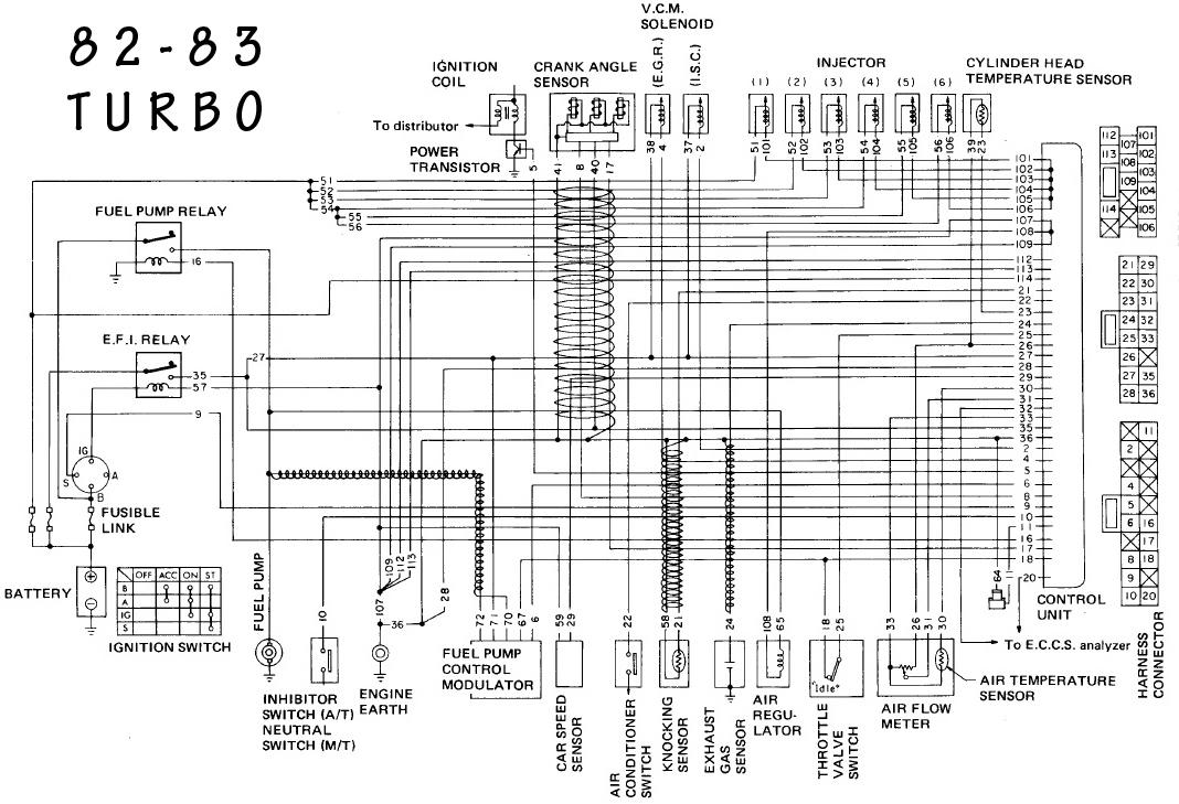 83 280zx wiring diagram