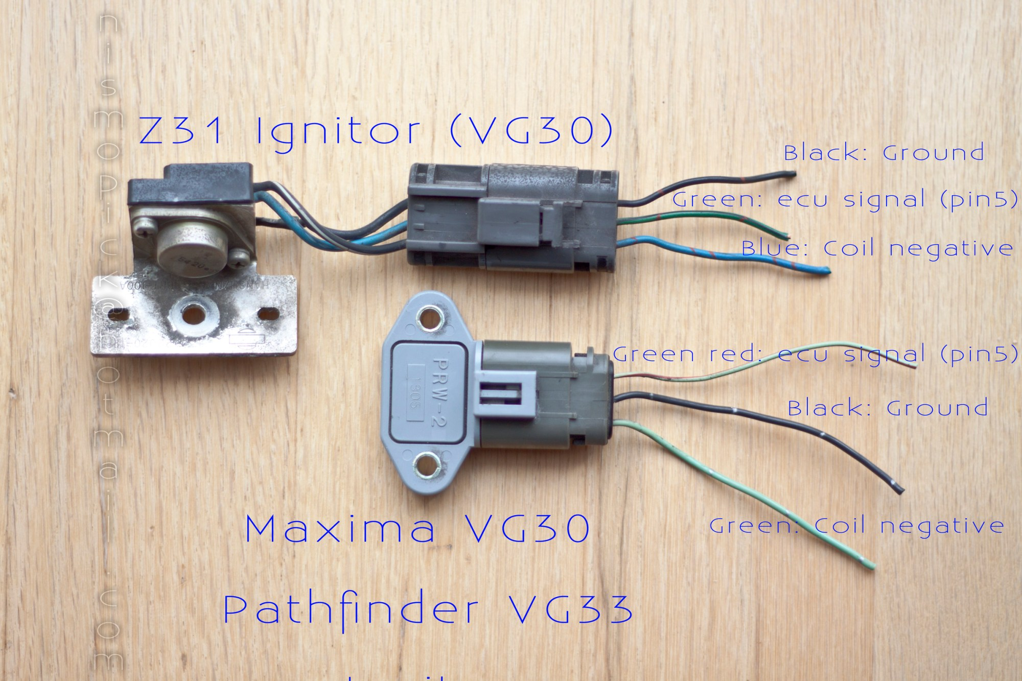 hight resolution of 1983 280zxt ignition transistor pack upgrade both compare smaller jpg