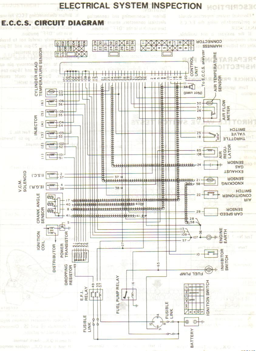 Pleasant 1991 300Zx Ecu Wiring Diagram Basic Electronics Wiring Diagram Wiring Digital Resources Indicompassionincorg