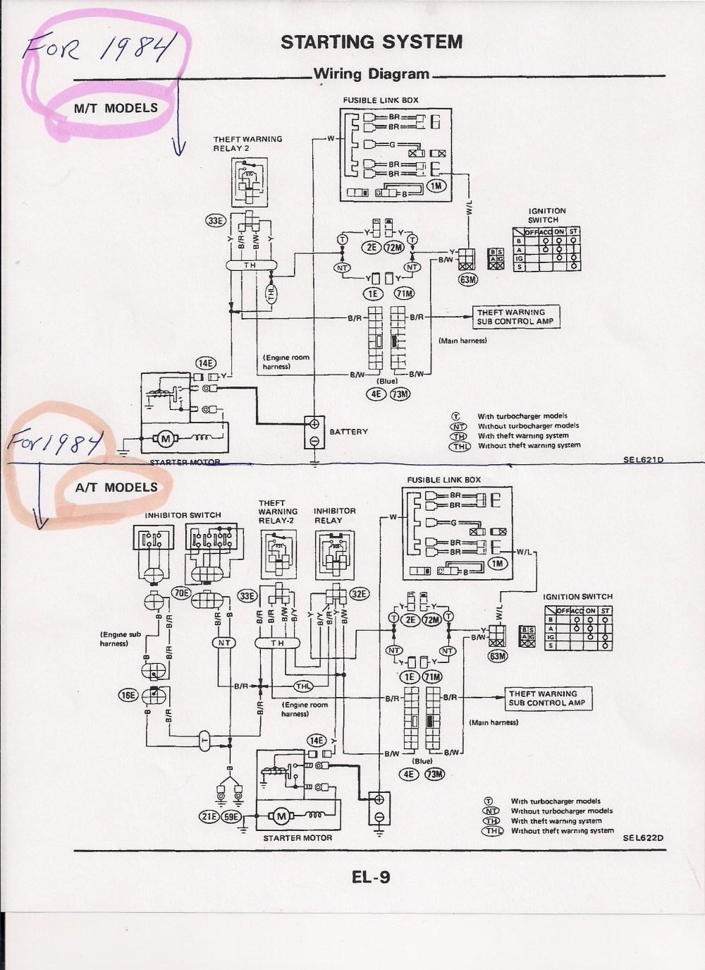 medium resolution of 1985 nissan 300zx ignition wiring diagram nissan wiring