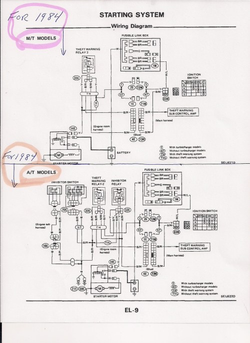 small resolution of 1985 nissan 300zx ignition wiring diagram nissan wiring