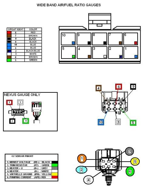 autometer air fuel ratio gauge wiring diagram hdmi cable wideband o2 guage sensor location - zdriver.com
