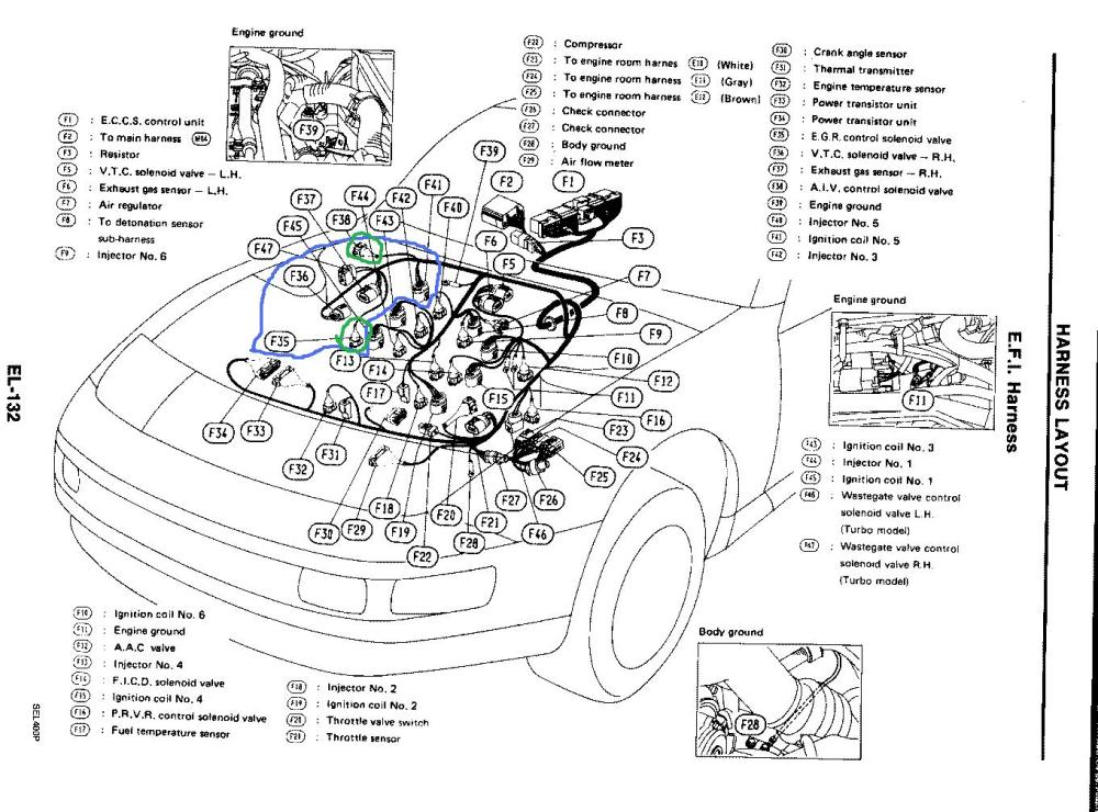 medium resolution of 1990 300zx wire harness wiring diagram article review 1990 nissan 300zx stereo wiring harness 1990 300zx