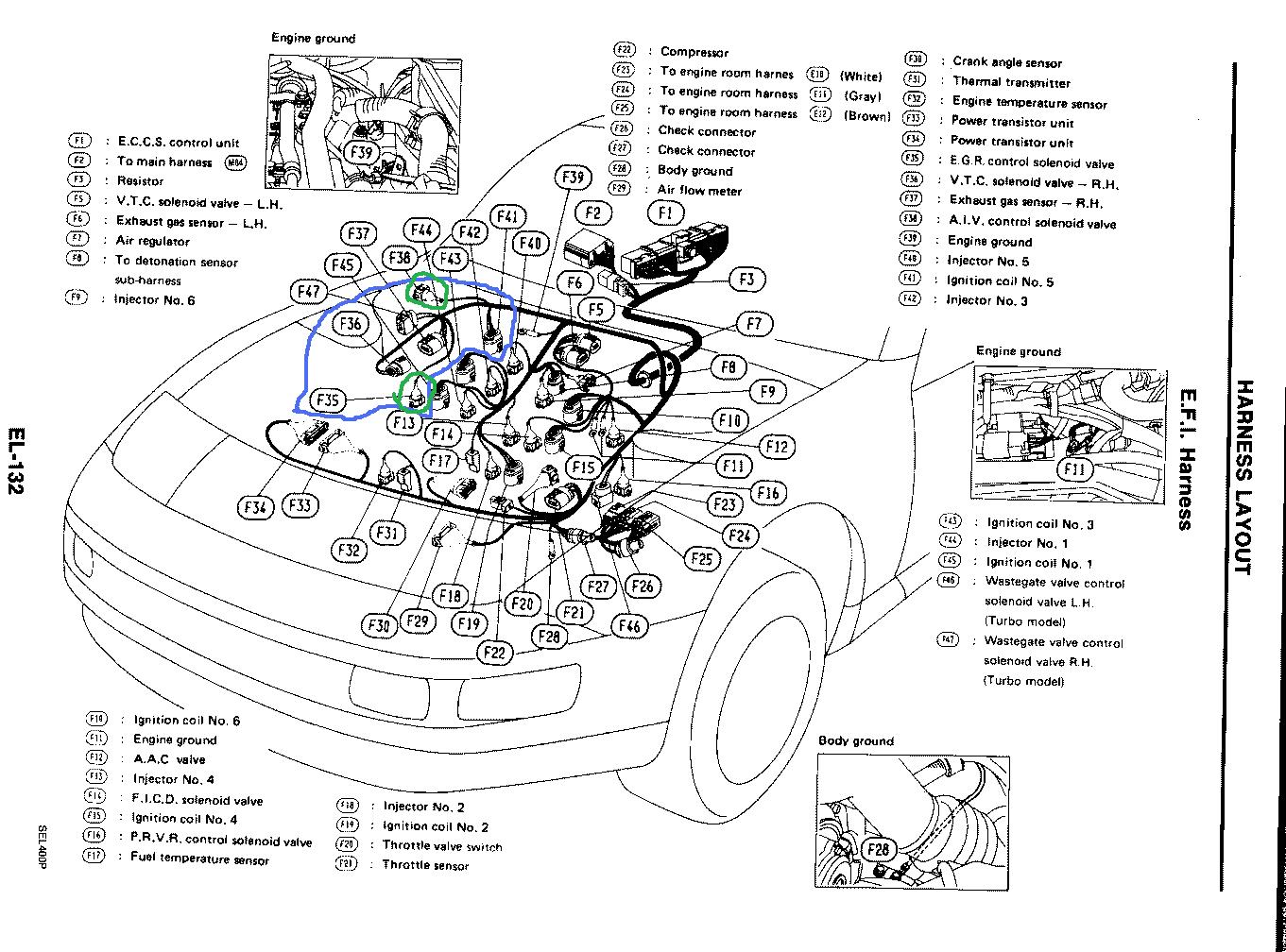 hight resolution of 1990 300zx wire harness wiring diagram article review 1990 nissan 300zx stereo wiring harness 1990 300zx