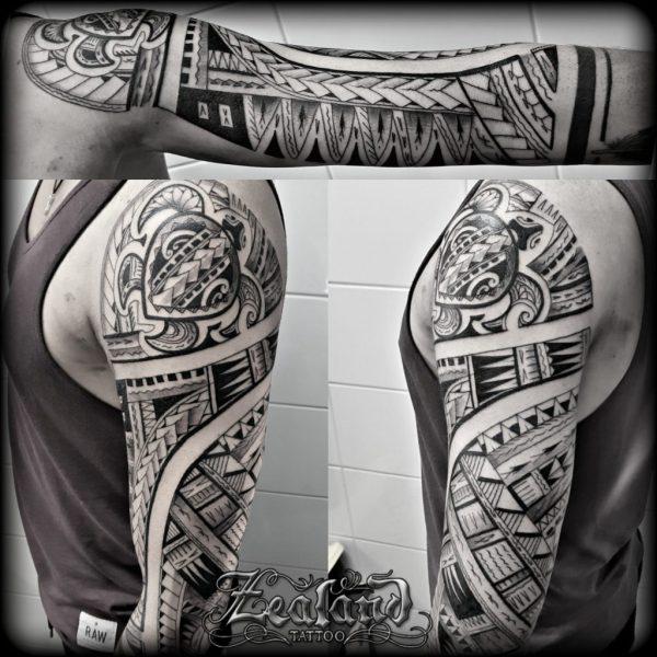 Polynesian Tattoo - Zealand