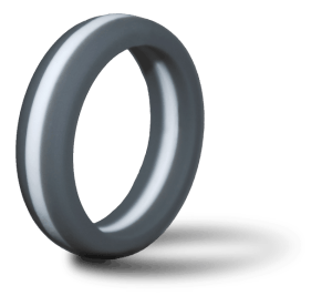 Zealology Ring standing on its edge