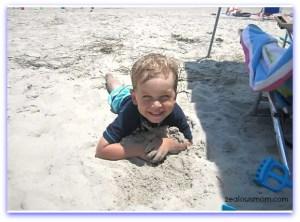 OBX Brooks in sand
