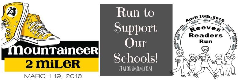 Run to Support Our Schools! #running #run #runchat