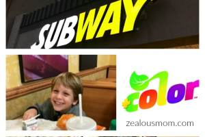 SUBWAY® promotes a life +color