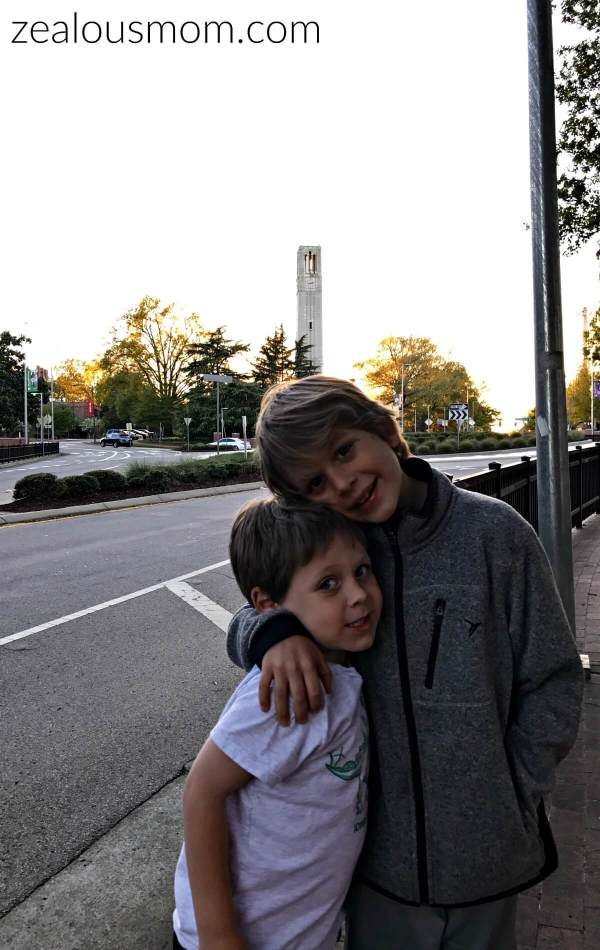 Roadtrippin' with the littles: Raleigh and Winston Salem, NC @zealousmom.com