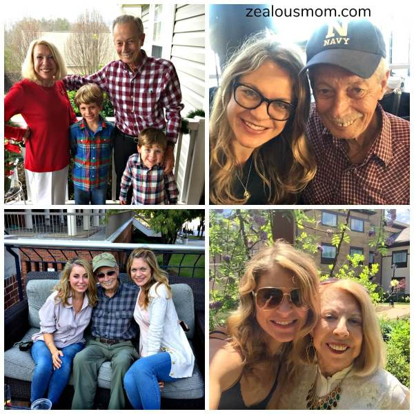 A bittersweet Father's Day, indeed. Celebrating the dads in my life while missing my mom made for a very rough but happy day. Father's Day 2017. @zealousmom.com