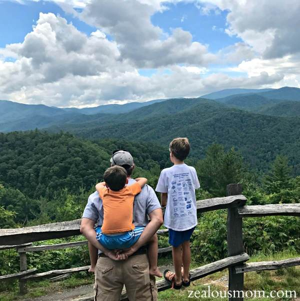 A bittersweet Father's Day, indeed. Celebrating the dads in my life while missing my mom made for a very rough but happy day. A little Cataloochee Valley fun on Father's Day 2017. @zealousmom.com