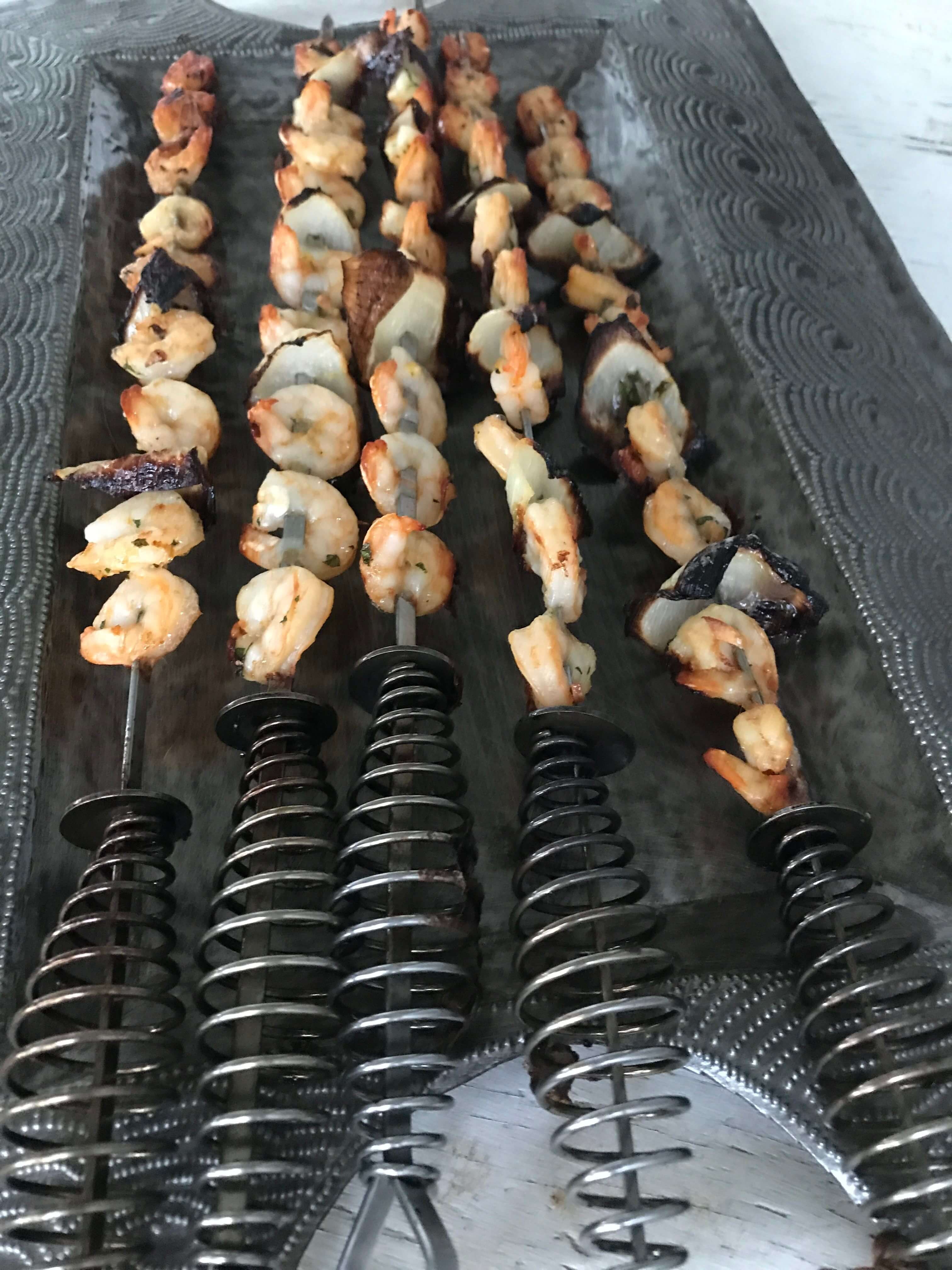 Fresh & Tasty Grilled Shrimp Skewers