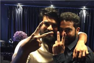 Ram Charan Jr. NTR accepts SS Rajamouli Be The Real Man challenge