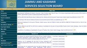 JKSSB Class IV Posts
