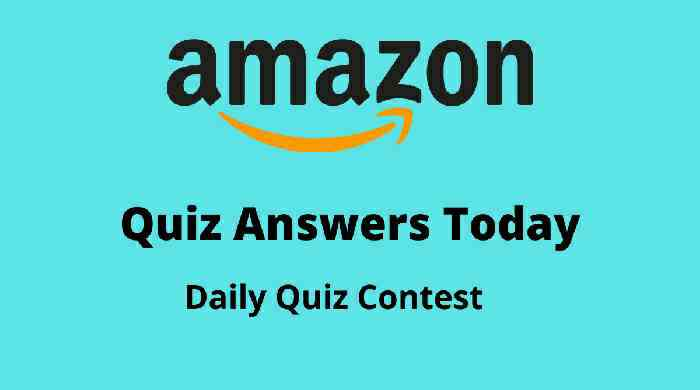 Amazon Daily Quiz 5th October 2020 Answers