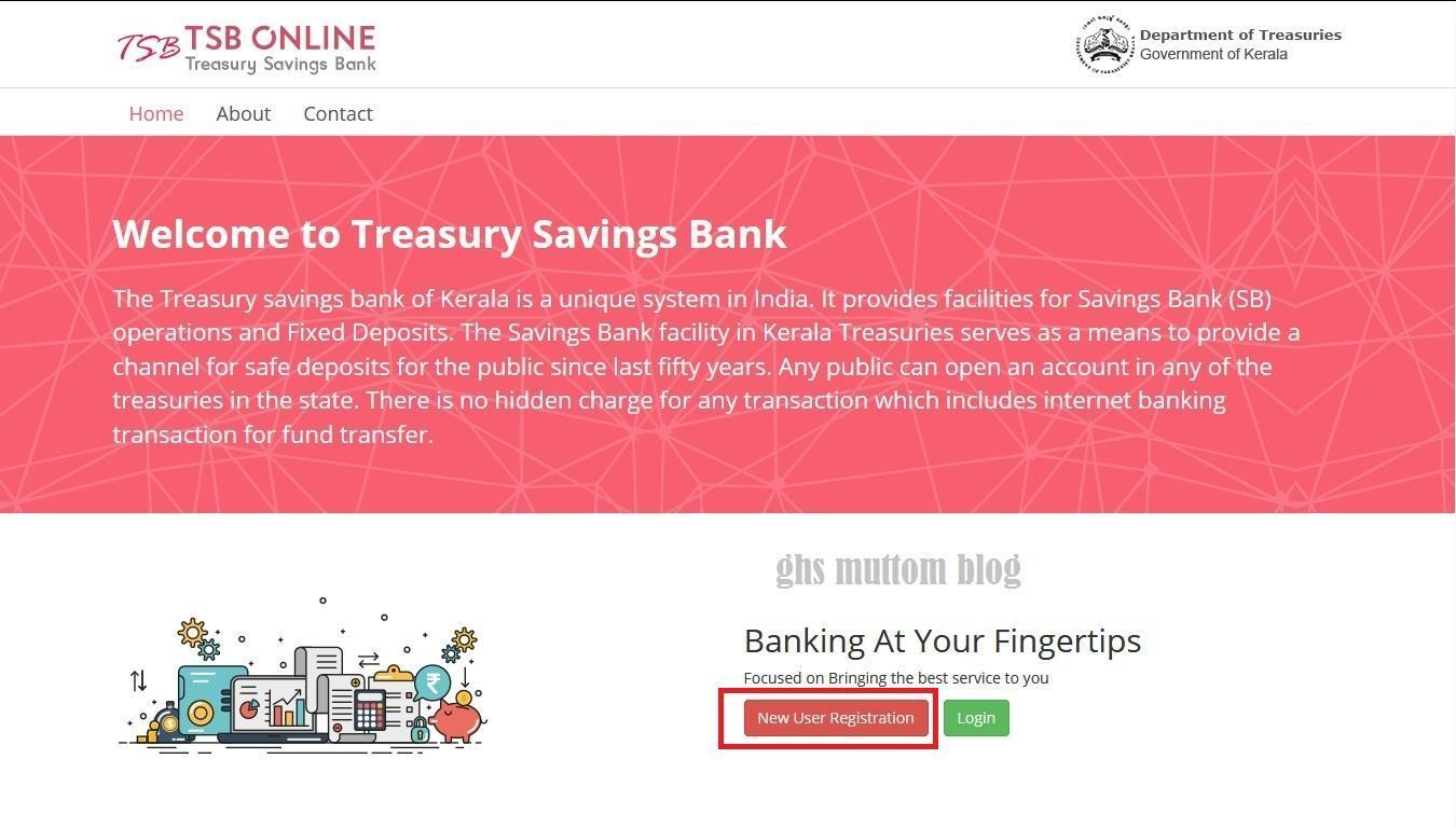 TSB Online Registration
