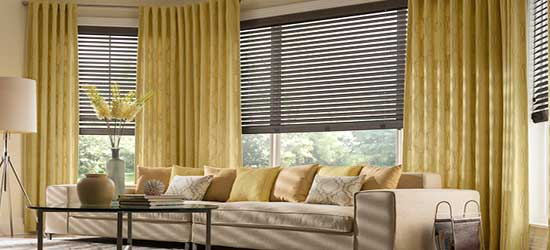 window treatments ideas for living room high back chairs treatment your kitchen or home faux wood blinds canada zebrablinds ca