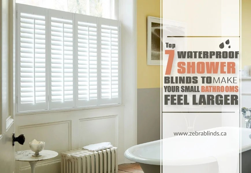 7 waterproof shower blinds to make your