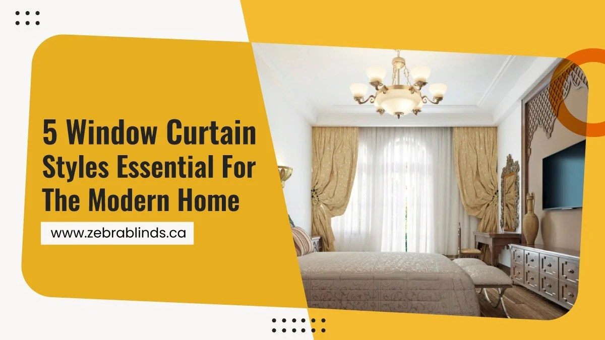 5 window curtain styles essential for
