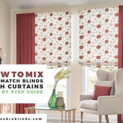 Blinds For Living Room With Curtains Bobs Furniture Ways To Mix And Match Zebrablinds