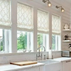 Kitchen Shades Cabinet Diagrams Blinds For Sink Windows A Complete Guide Zebrablinds Roman