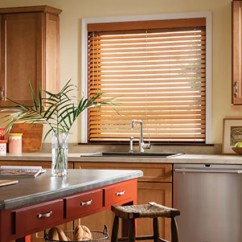 Modern Kitchen Window Treatments Round Table 5 To Replace Old Curtains Faux Wood Blinds In
