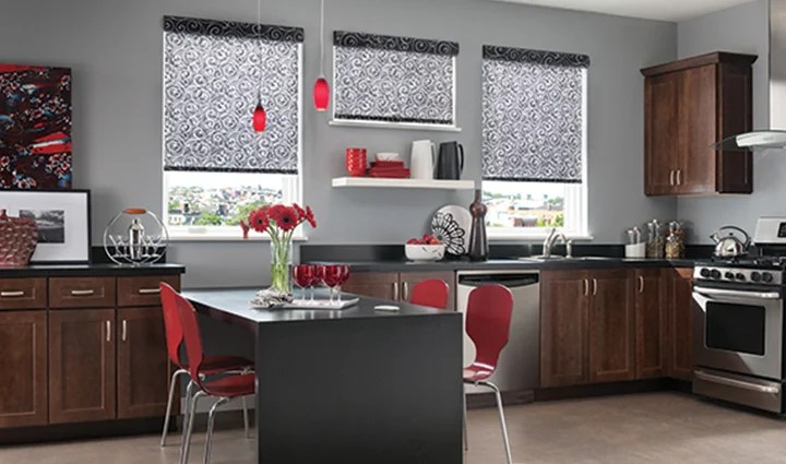 modern kitchen window treatments bronze faucets 5 to replace old curtains roller shades for