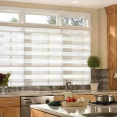 Modern Kitchen Window Treatments Large Sink 5 To Replace Old Curtains Aluminum Blinds For