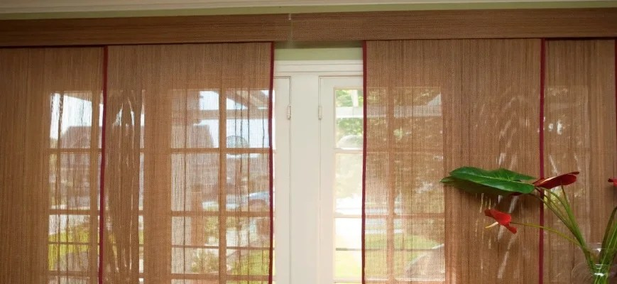 Panel Blinds For Sliding Glass Doors Guide To Dress Your