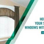 How To Dress Your Semi Circle Windows With Curtains