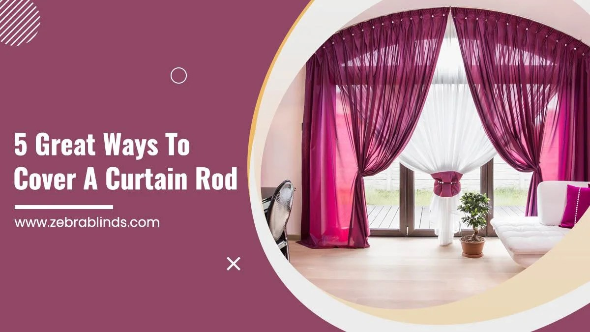 5 great ways to cover a curtain rod