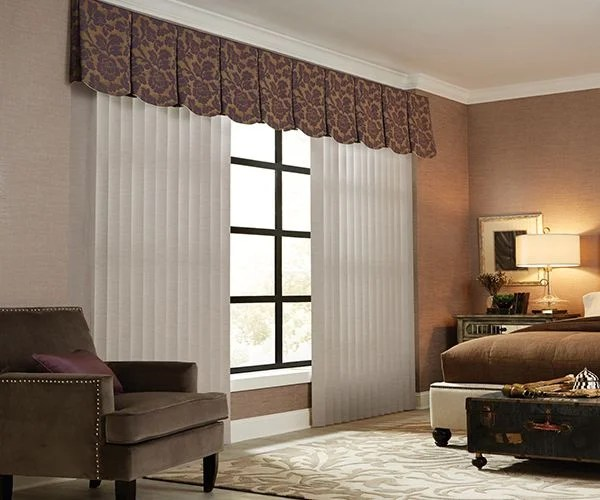3 inches fabric vertical blinds graber