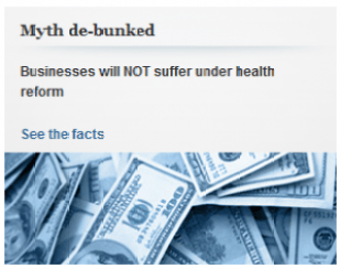 WH myth ACA hurts business