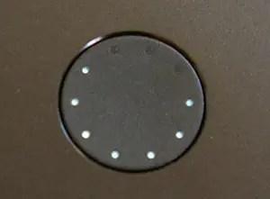 Le bouton avce LED de la batterie Anker