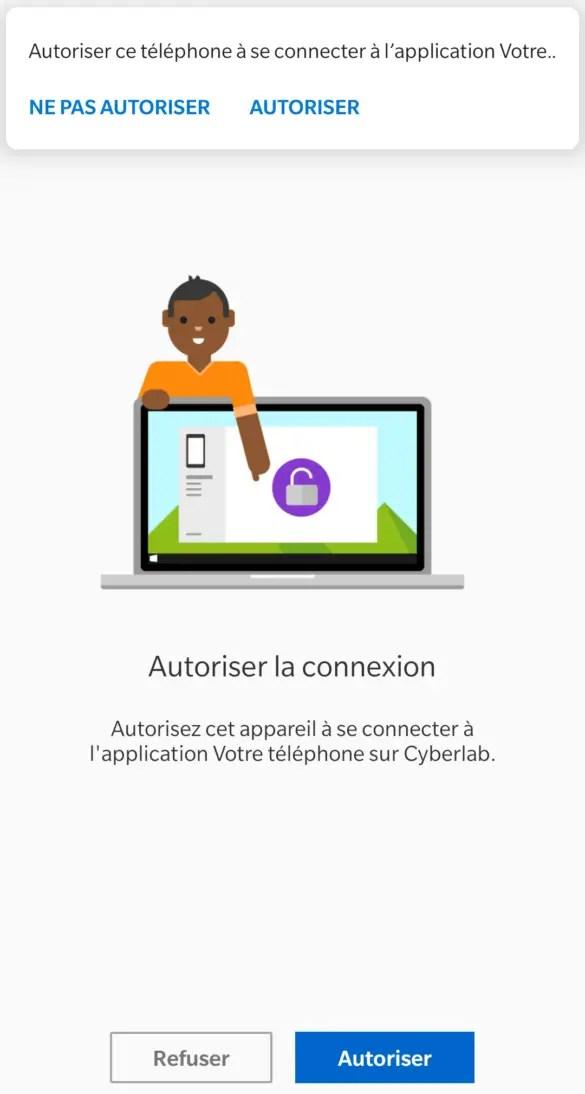 Autoriser la connexion