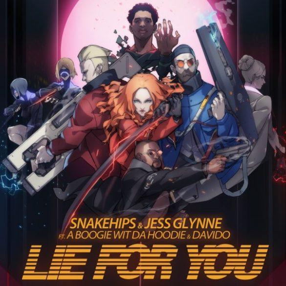 "Snakehips & Jess Glynne ft. A Boogie wit da Hoodie & Davido – ""Lie For You"""