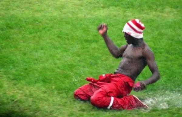 Nkana football club fan