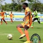 Zambian footballers Kennedy Musonda