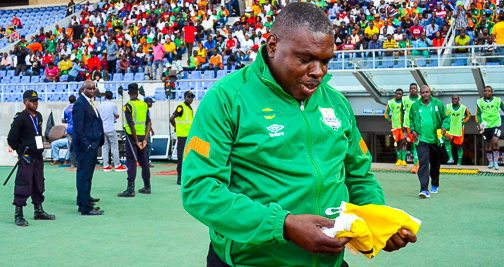 Zesco head coach George Lwandamina