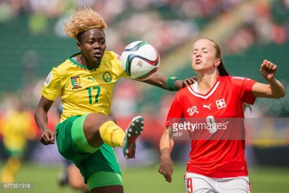 Gaelle Enganamouit of Cameroon