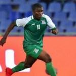 Zambian football player Mike Katiba