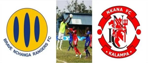 Nchanga vs Nkana 2017