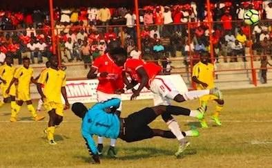 nchanga hold nkana during week 21 super league game