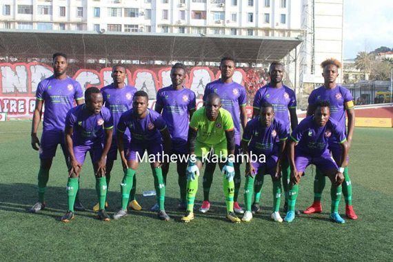 Nkana Seek CAF Redemption against Belouizdad