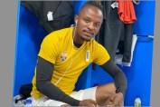 Walter Bwalya playing for EL Gounah