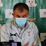 Zambia National football coach Milutin Sredojevic Micho