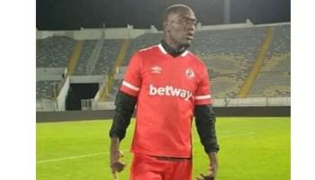 Football player Simon Mulenga