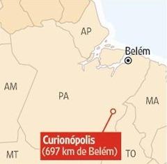 Serra Pelada Mapa